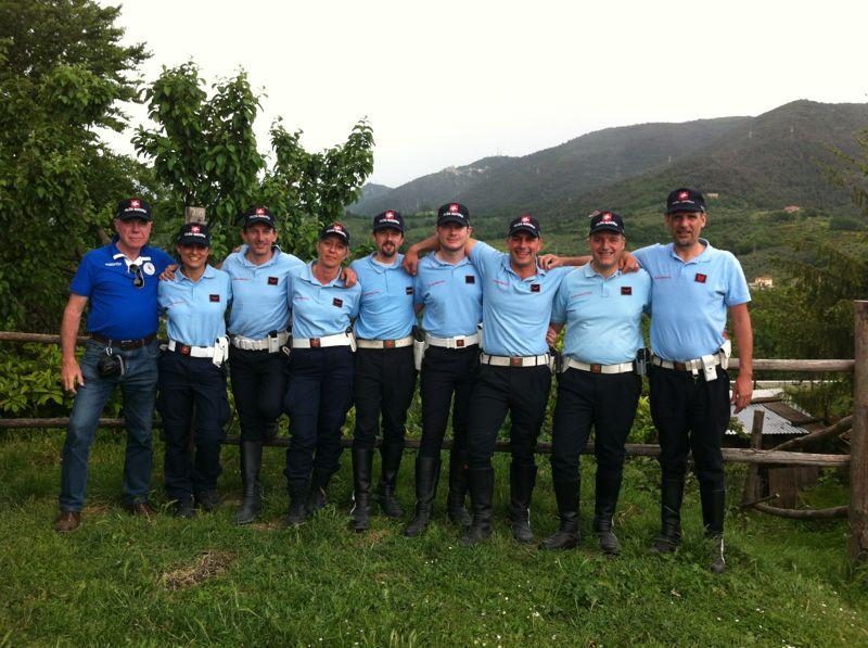 Squadra di tiro operativo della Polizia Municipale di Prato